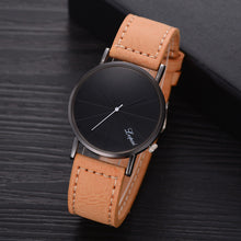 Load image into Gallery viewer, LVPAI Black Business Watch Simple Men's Leather Belt Watches Sports Male Clock Men Top Luxury Brand Wristwatch Man watch
