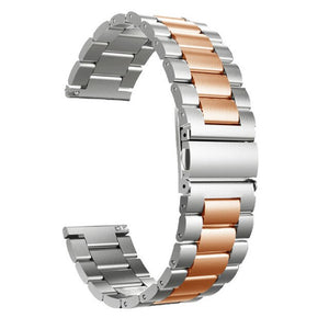 18/20/22/24 mm Quick Release General Usual Watch Band Premium Solid Stainless Steel Metal Bracelet Strap for Men's Women's Watch