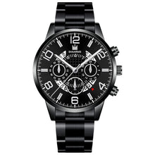 Load image into Gallery viewer, Men's Business Watch Luxury Stainless Steel Strap Casual Waterproof Quartz Watches Men Date Calendar Display Wrist Watch Clock