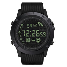 Load image into Gallery viewer, Men's watch outdoor intelligent Multifunction sports and leisure  digital clock military silicone automatic clock waterproof H4