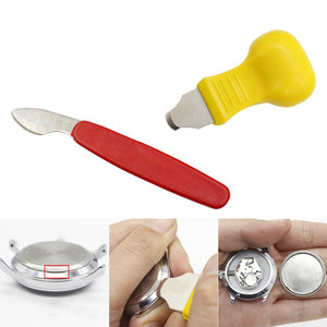 Stainless Steel Plastic Watch Repair Tool Kit Watch Case Opener Back Cover Remover Wathes Repair Tools Watch Accessories VL