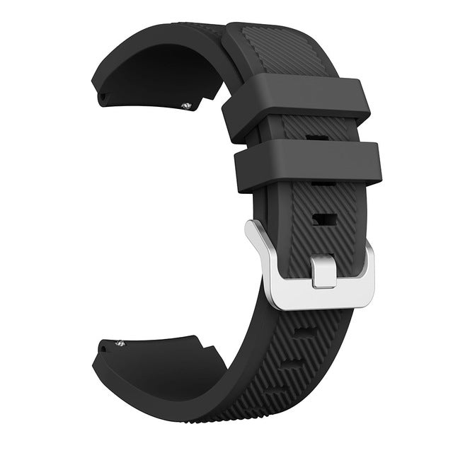 For Huawei watch GT Watchband 22mm Silicone Sport Replacement Watch Men women's Bracelet watches Strap for Samsung Gear S3 bands