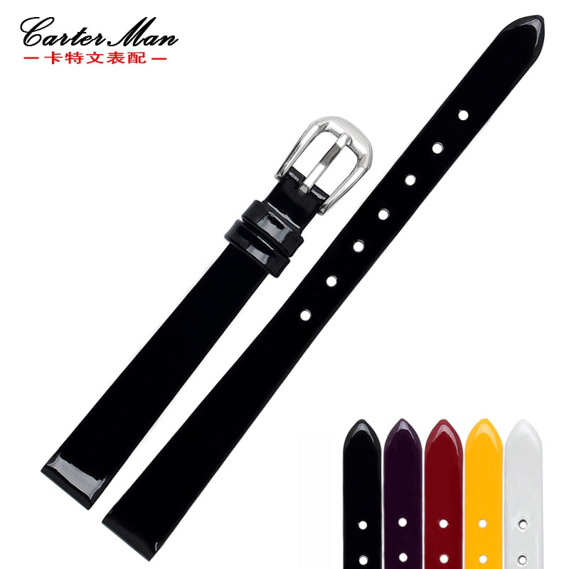 New High quality 6mm 8mm 10mm Genuine leather small size watchband watch strap for Fossi Women's Bracelet