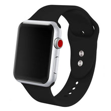 Load image into Gallery viewer, Sports Soft Silicone Band For Apple Watch 4/3/2/1 Men's and Women's Replacement Wrist Strap For Iwatch Series 44/42/40/38mm