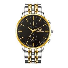 Load image into Gallery viewer, Men's Wrist Watches Mens Watches Top Brand Luxury Orlando Clock Stainless Steel Men's Watch Men erkek kol saati reloj hombre