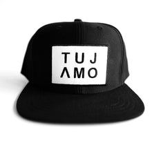Load image into Gallery viewer, TUJAMO CAP LOGO WHITE
