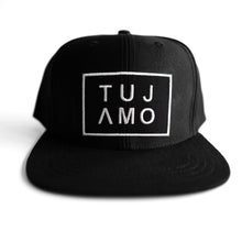 Load image into Gallery viewer, TUJAMO CAP LOGO BLACK