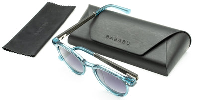 OVAL LIGHT BLUE | BABABU