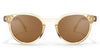 OVAL LIGHT BROWN | BABABU