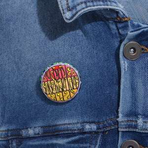 """I Survived Coronavirus 2020"" Pin Buttons"