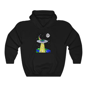 """Toilet Paper Abduction"" Unisex Heavy Blend™ Hooded Sweatshirt"
