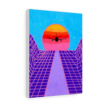 "Load image into Gallery viewer, ""Jet Blue"" Artwork Canvas Gallery Wrap"