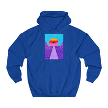 "Load image into Gallery viewer, ""Jet Blue"" Unisex College Hoodie"
