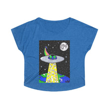 "Load image into Gallery viewer, ""Toilet Paper Abduction"" Women's Tri-Blend Dolman"