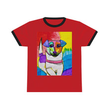 "Load image into Gallery viewer, ""Merlin"" Artwork Ringer Tee"