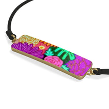 Load image into Gallery viewer, Floral Art Cord Bracelet