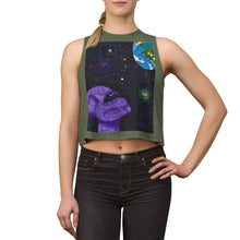 "Load image into Gallery viewer, ""Compassion is Universal"" Crop Top"