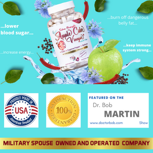 100% Satisfaction Guarantee! Featured on the Doctor Bob Martin Show. Military Spouse owned and operated company. Proudly manufactured in the USA!