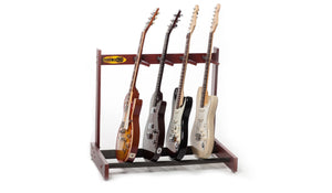 Wooden Guitar Rack - 4 Slots