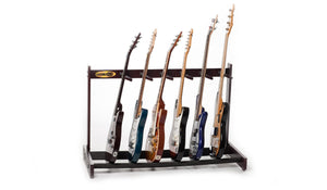 Wooden Guitar Rack - 6 Slot