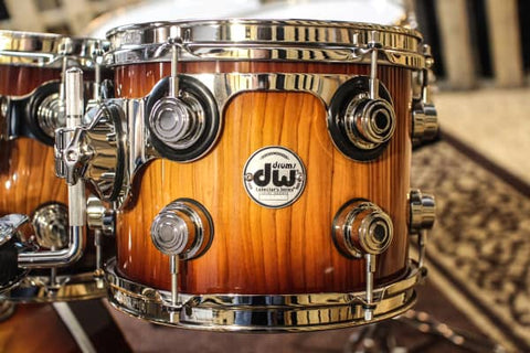 Collector's Pure Almond Natural To Toasted Almond Burst Drum Set - 22, 10, 12, 14, 16 - SO# 1115168