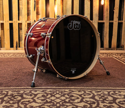 DW Performance Cherry Stain Kick Drum - 16x20