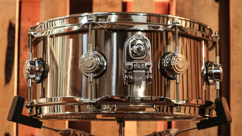 DW Collector's Stainless Steel 5.5x13 Snare Drum - DRVL5513SPC