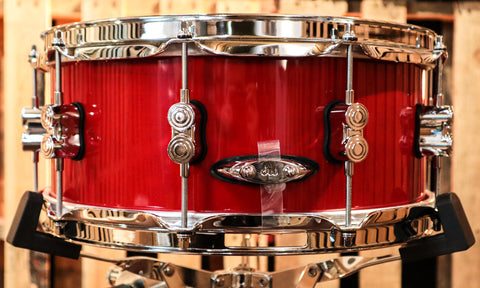 DW Performance Candy Apple Snare Drum - 5.5x14 - Old Style Lugs
