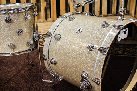 DW Collector's Maple Broken Glass Drum Set - 22, 10, 12, 14 - SO# 827968
