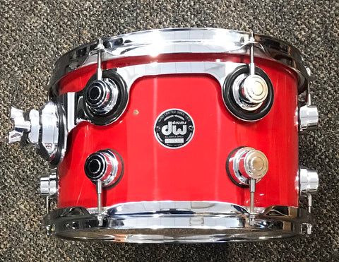 DW Collector's Series Tomato Red Rack Tom Pair SO# 550506