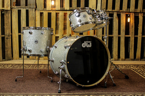 DW Collector's Series SSC Drum Set, Broken Glass - 22, 10, 12, 16 - SO #1148685