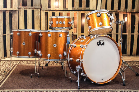 DW Collector's Exotic Maple/Spruce Drum Set 24/13/16/18/7x14 - SO #1157540