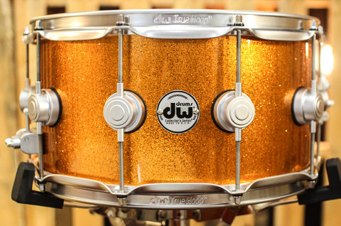 DW Collector's Series Polished Copper 5.5x14 Snare Drum