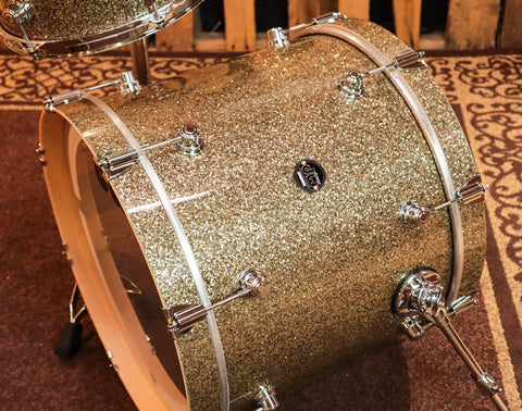 DW Collector's 7x14 Quilted Moabe Snare Drum with Maple VLT Shell (F# note)