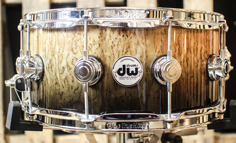DW Collector's Exotic Candy Black Fade 6.5x14 Snare - SO#1157757