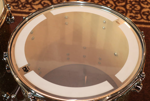 DW Collector's Black Limba Black Nickel Hardware X-Shell 7x14 Snare (video demo)
