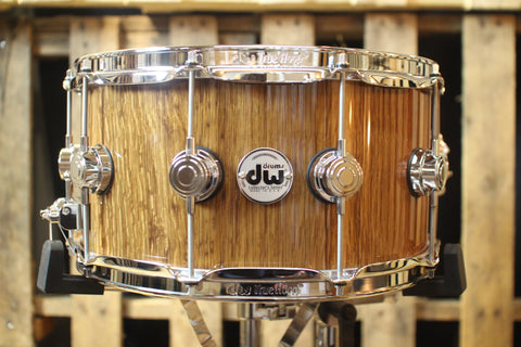 "DW Collector's ""Stretch Oak"" over Maple VLT 7x14 Snare - SO#1157734 (video demo)"
