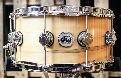 DW Collector's Exotic Mineral Maple VLT 6.5x14 Snare SO#1157723