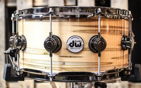 DW Collector's Mineral Maple Standard w/ Black Nickel Hardware 6.5x14 Snare - SO#1157750
