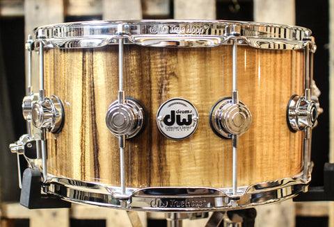 DW Collector's Exotic Koa Maple/Mahogany VLT 7x14 Snare - SO#1157718