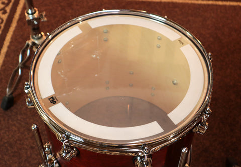 DW Collector's Polished Bell Brass 5.5x14 Snare Drum - DRVN5514SPC