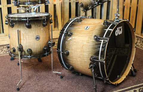 "DW Collector's ""VLT"" Super Maple Curl Drum Set - 22,10,12,16,6.5x14 - SO#1152132"