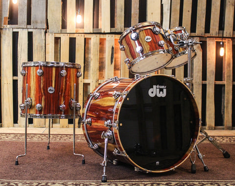 "DW Collector's ""333"" Natural Lacquer Over Padauk - 22, 10, 12, 16 - SO#1161692"