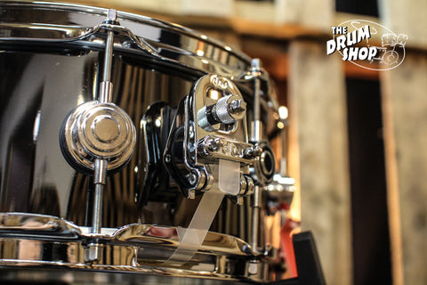DW Collector's Black Nickel Over Brass 5.5x14 Snare Drum - DRVB5514SVC