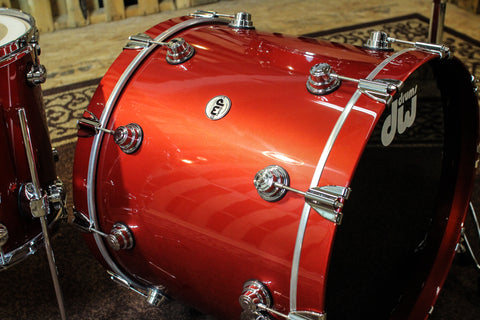 "DW Collector's Maple ""Minotaur's Blood"" Lacquer Drum Set - SO# 1105555"