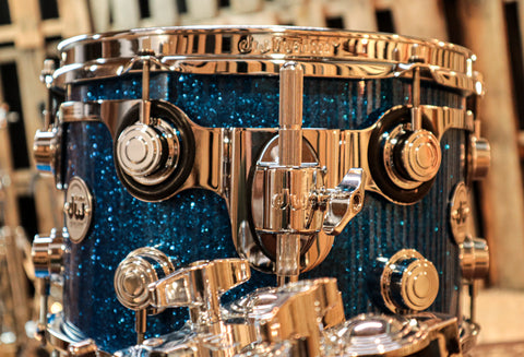 DW Collector's Series Green Sparkle With Chrome HW