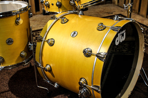 DW Collector's Series Drum Set, Amber Satin Oil SO# 1104135