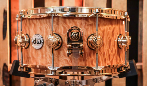 DW Collector's Series Drum Set, Natural Satin Oil SO# 1104133