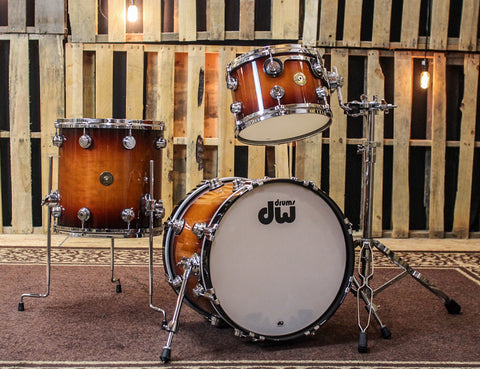DW Jazz Series Tobacco Burst Drum Set - 18,12,14 - SO#842347