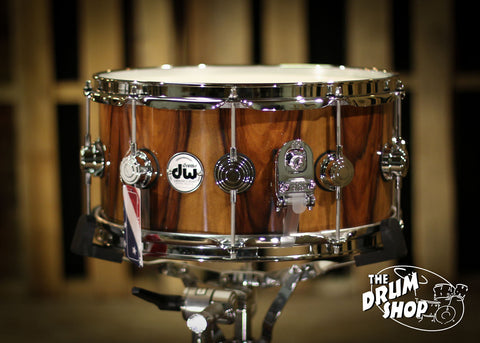 Collector's Snare Exotic Santos Rosewood 6.5x14 so# 1035623